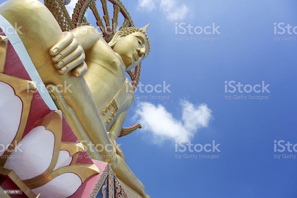 big buddha koh samui thailand royalty-free stock photo