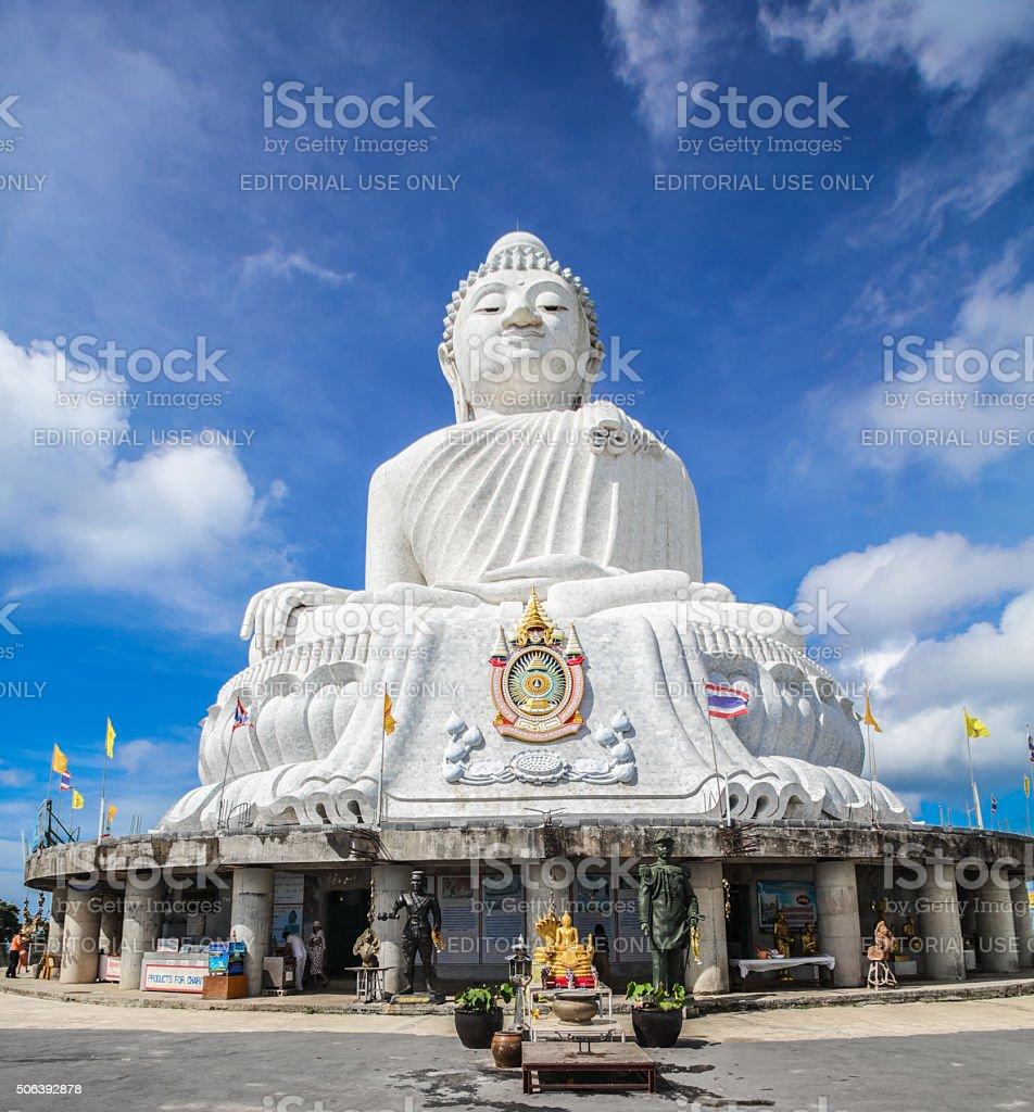 Big Buddha on Phuket in Thailand stock photo