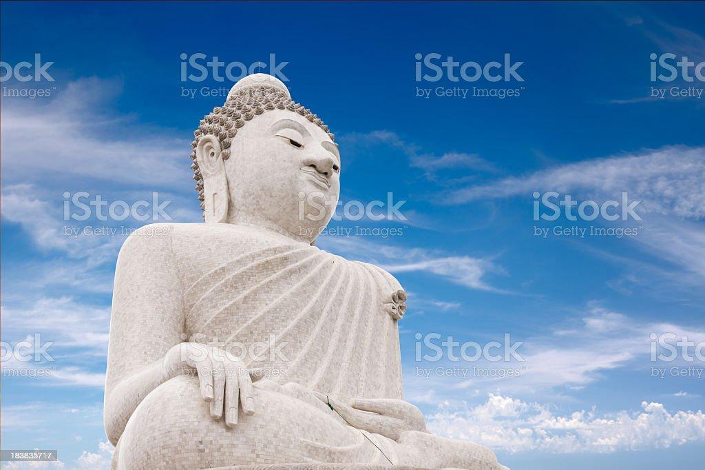 Big Buddha, Phuket, Thailand stock photo