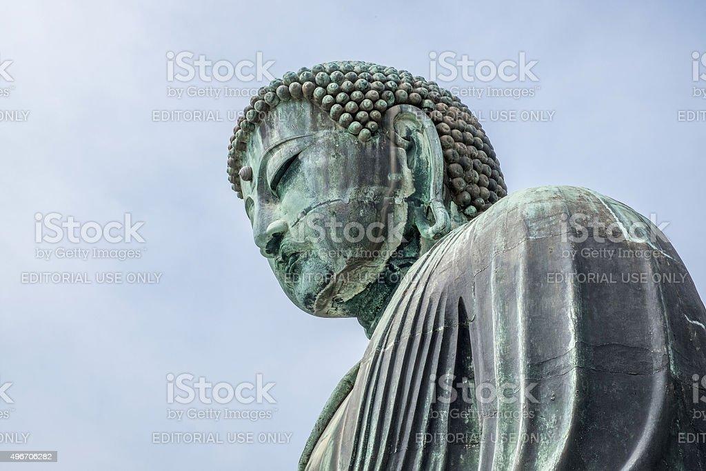 Big Buddha Statue in Kamakura stock photo