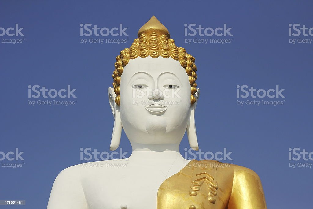Big Buddha statue. royalty-free stock photo