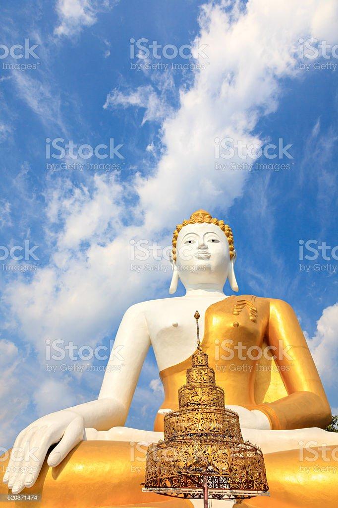 Big Buddha statue stock photo