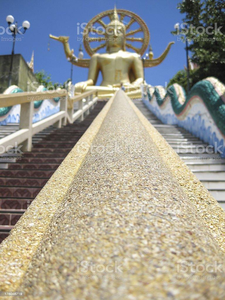 big buddha temple koh samui thailand stock photo