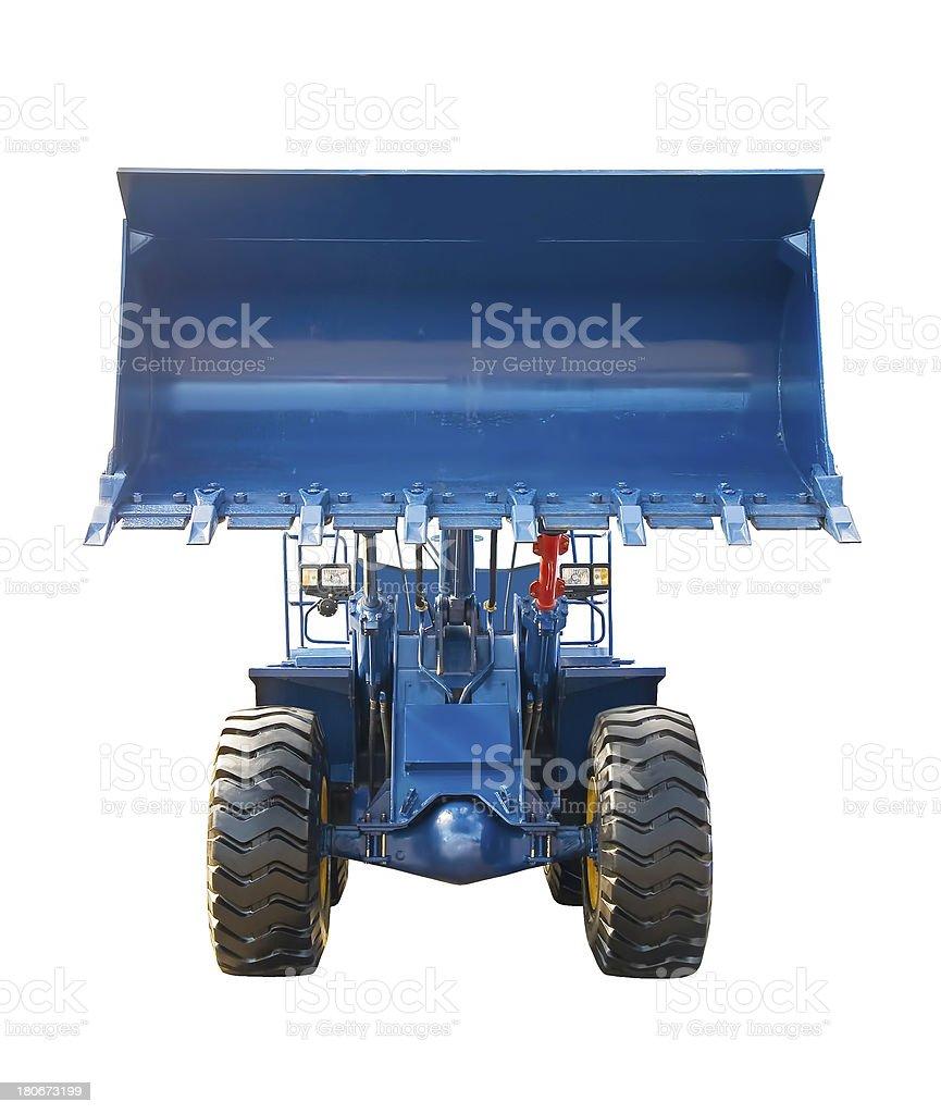 Big buldozer royalty-free stock photo