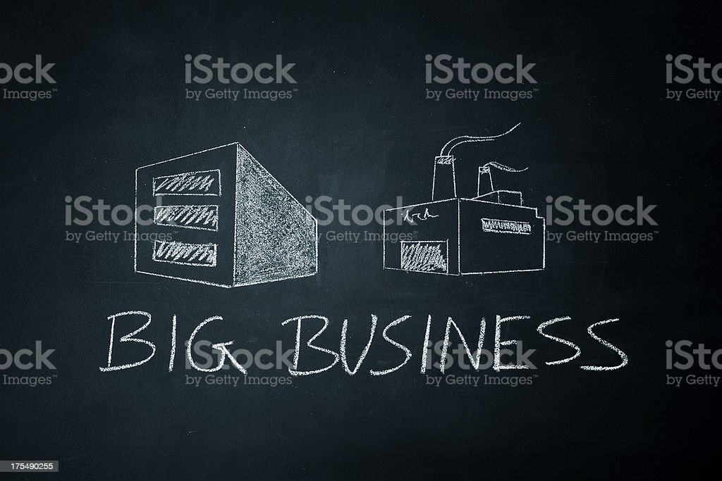 Big Business stock photo