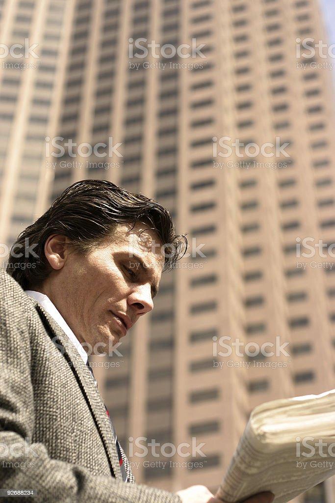 big businessman stock photo