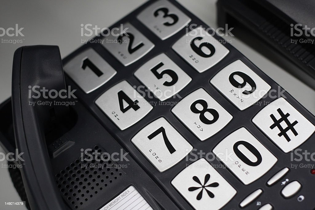 Big Buttons stock photo