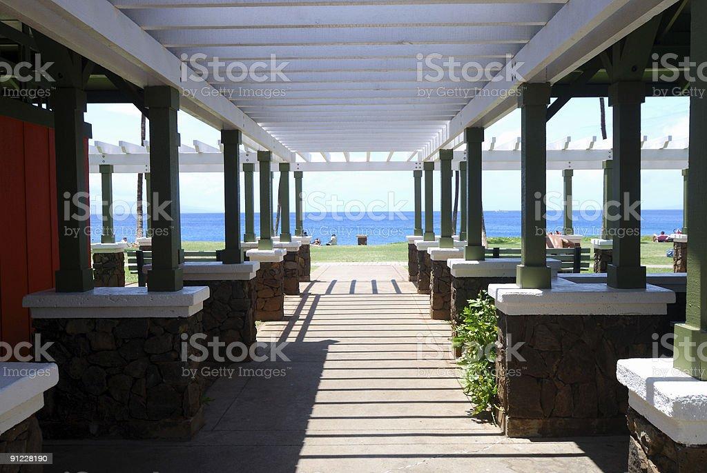 Big Cabana royalty-free stock photo