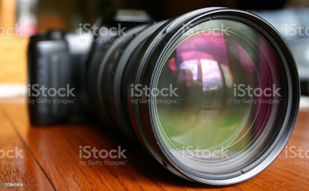 Big Camera Lense royalty-free stock photo
