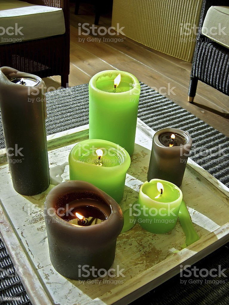 big candle royalty-free stock photo