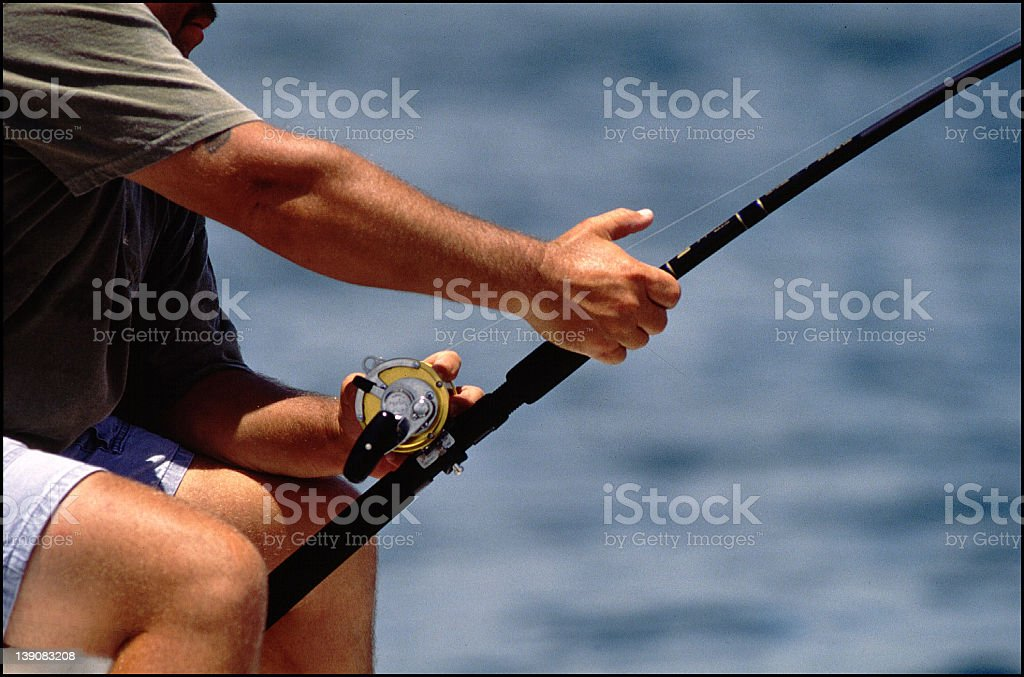 big catch. royalty-free stock photo