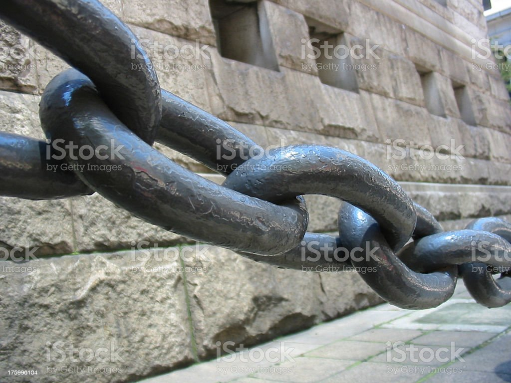 Big Chain royalty-free stock photo