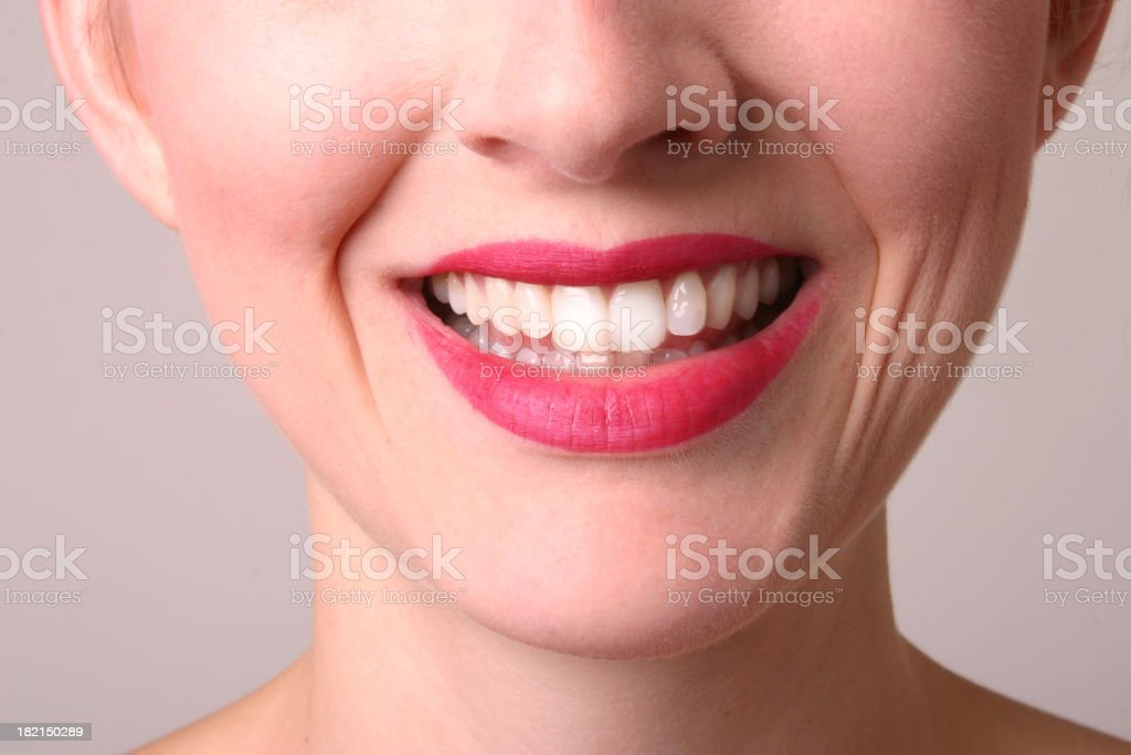 Big Cheesy Smile stock photo