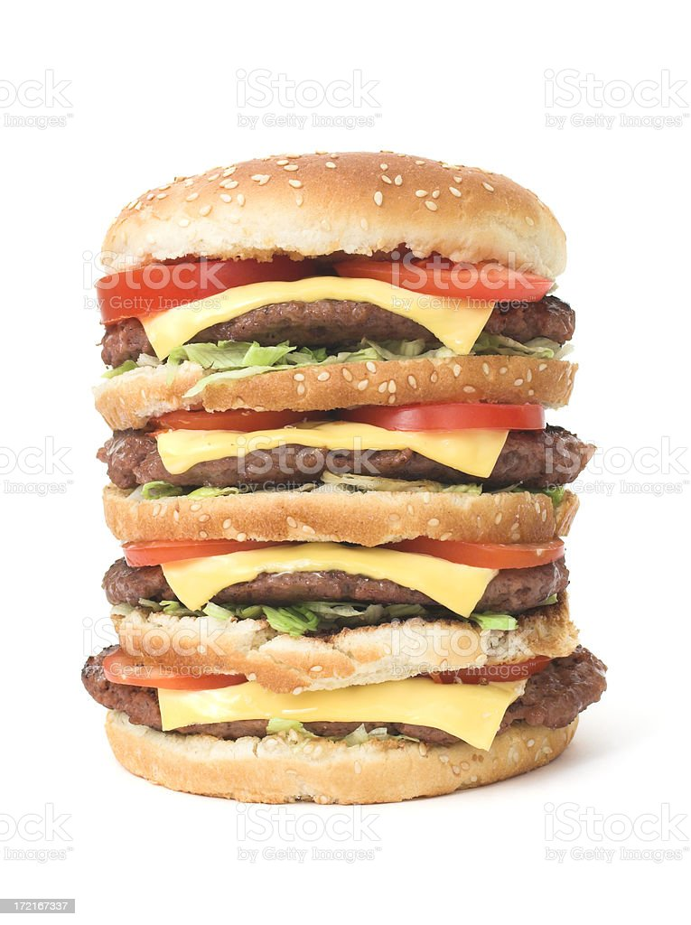 big chesseburger royalty-free stock photo