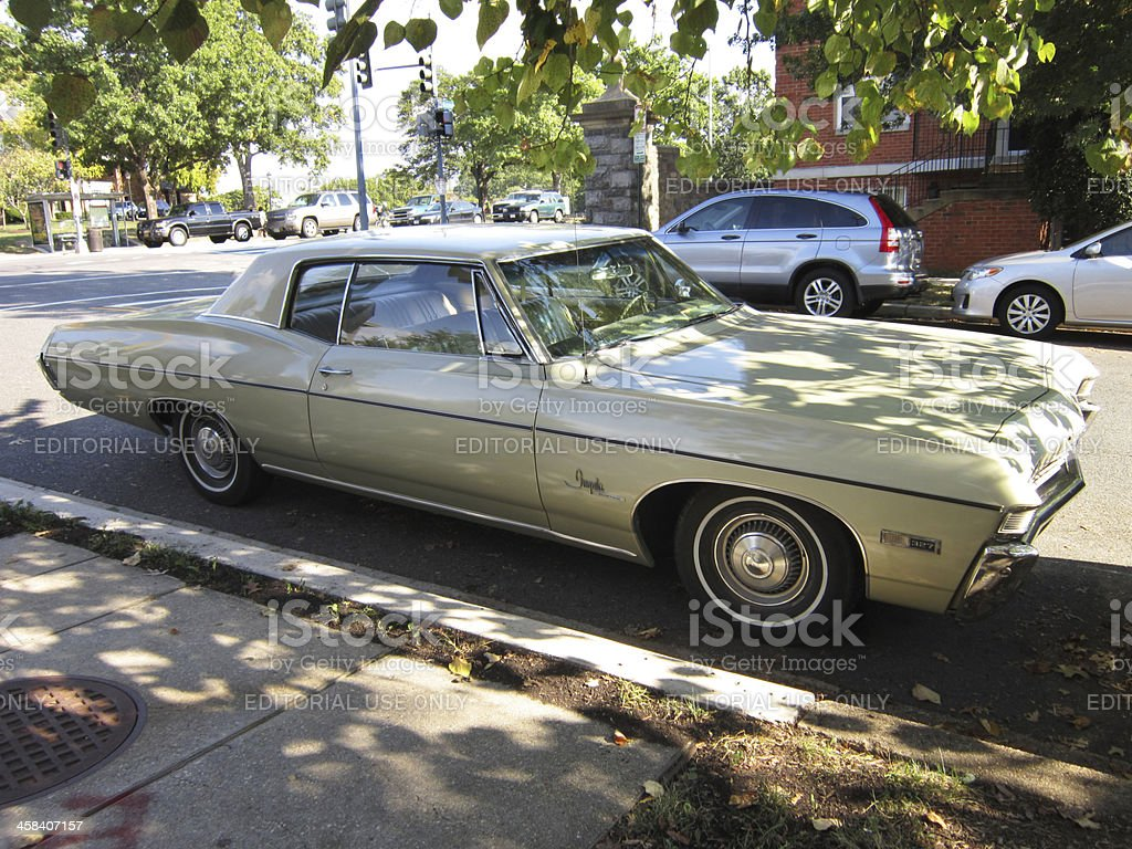 Big Chevrolet Impala stock photo