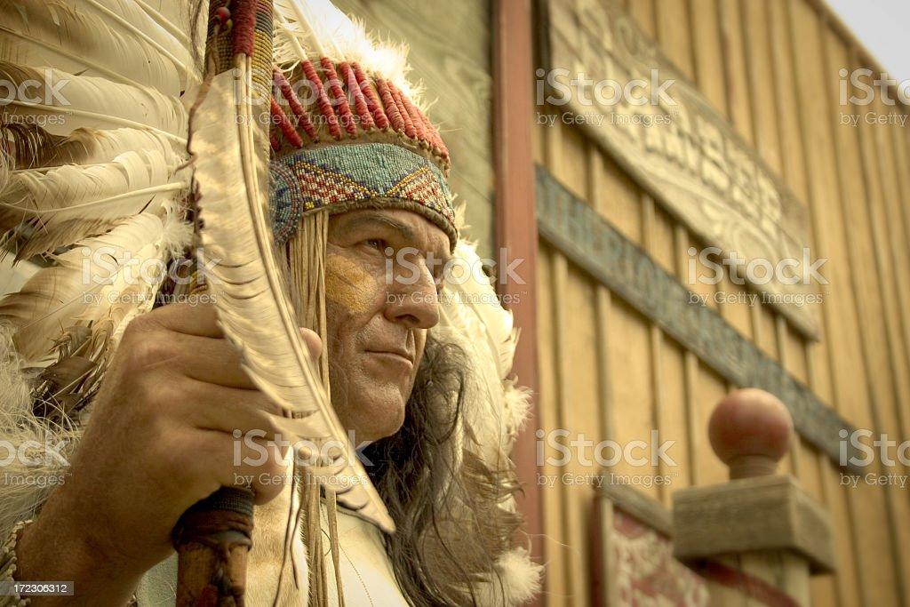 Big Chief royalty-free stock photo