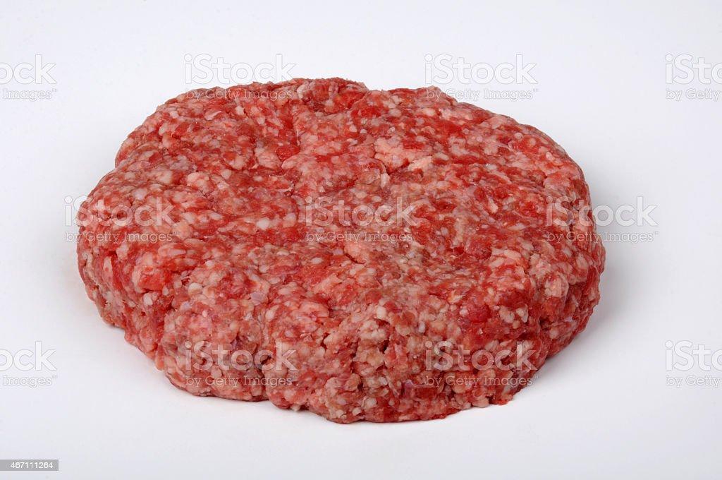 Big Chunk of Raw Meat stock photo