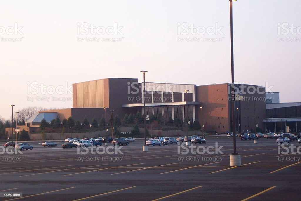 Big church building stock photo