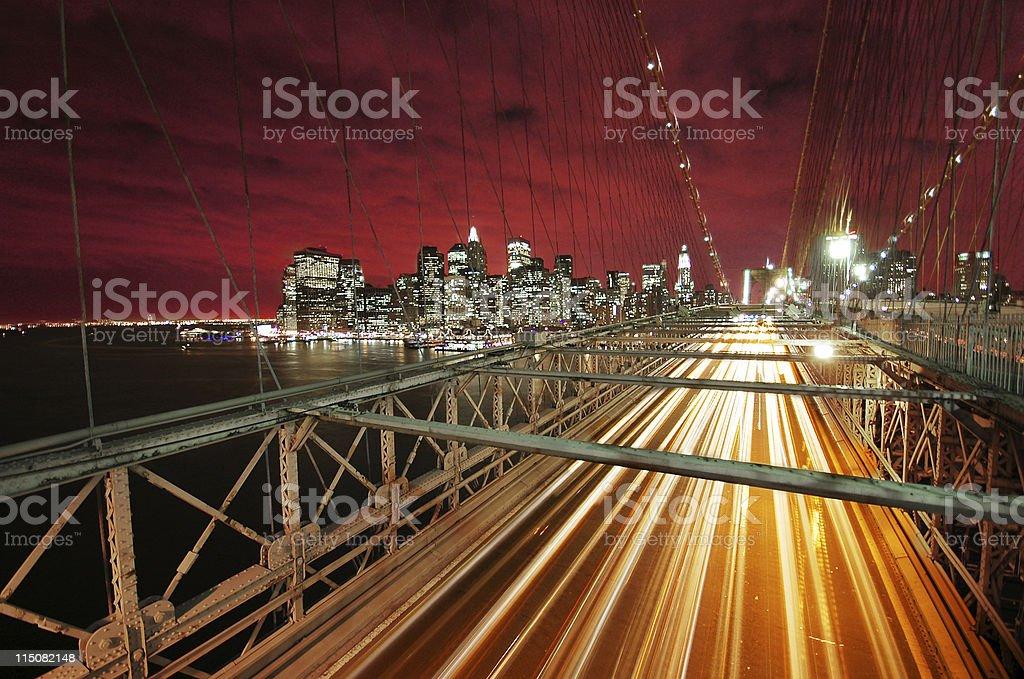 Big City, Bright Lights stock photo