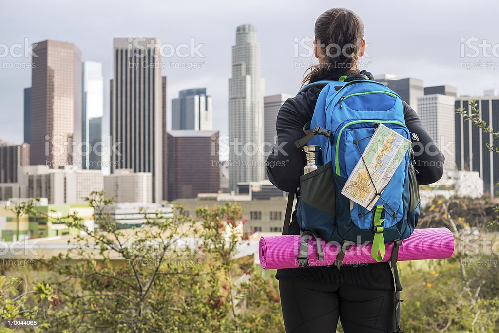 Big city, here I come royalty-free stock photo