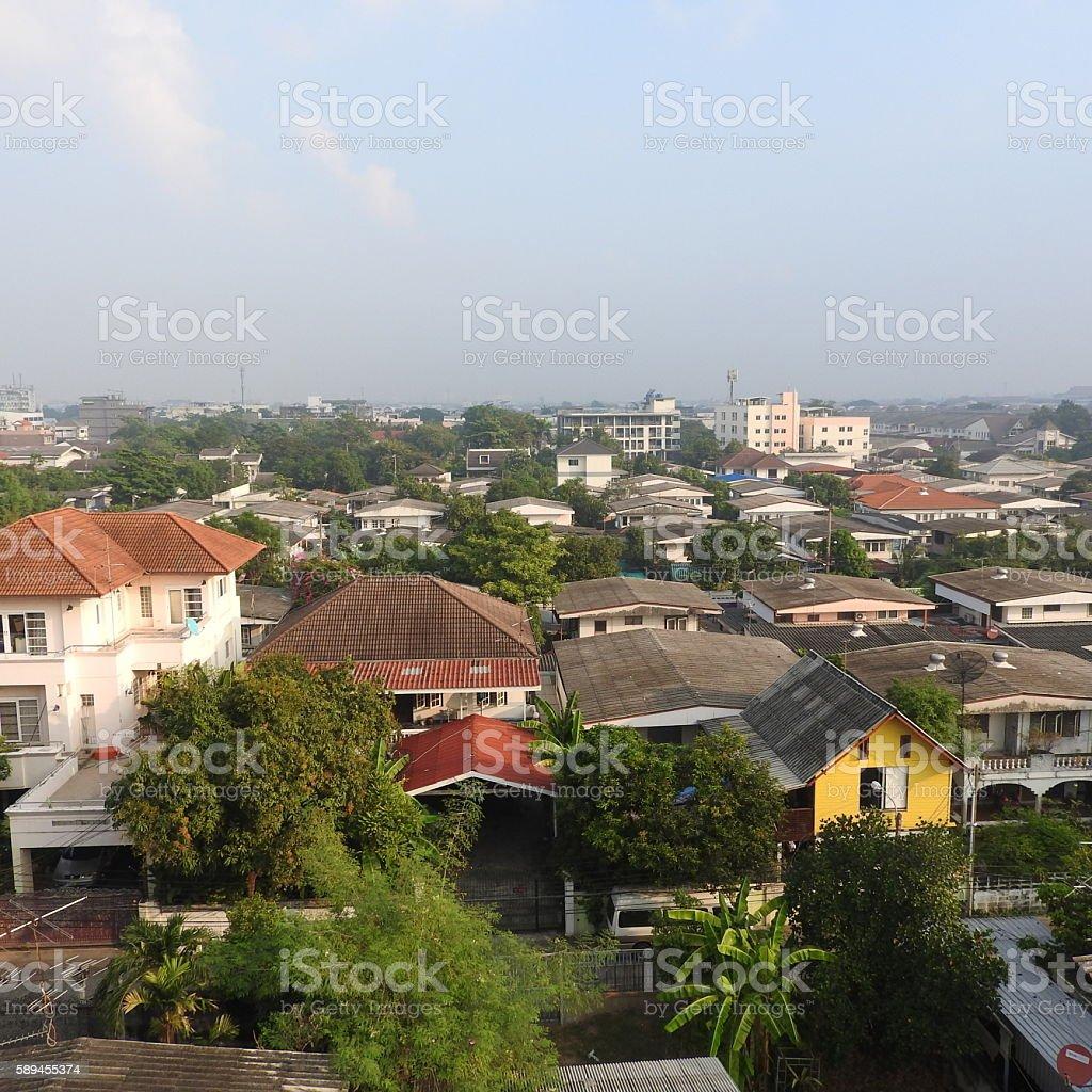 Big City in Bangkok stock photo