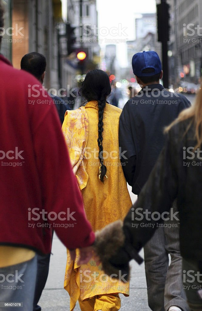 Big city life royalty-free stock photo