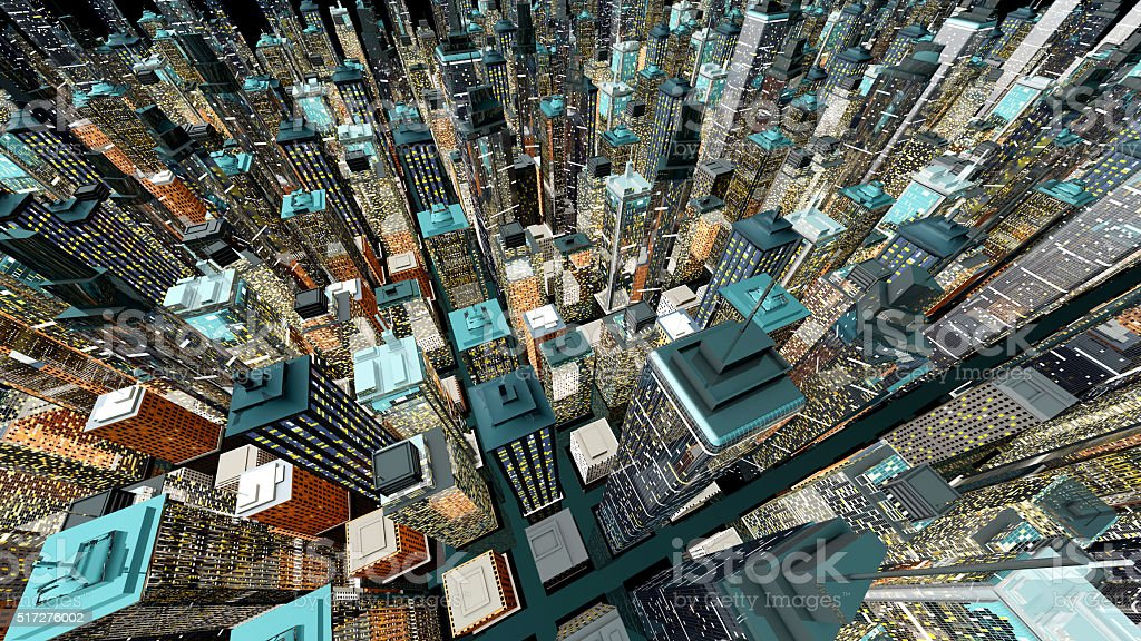 Big City stock photo