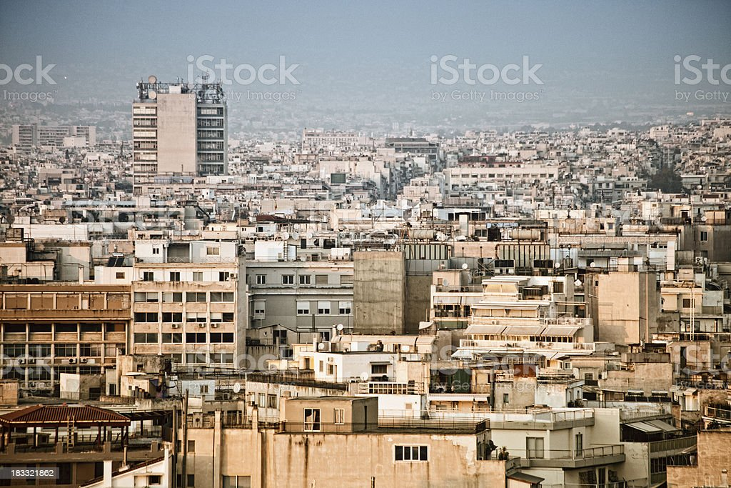 big city view stock photo