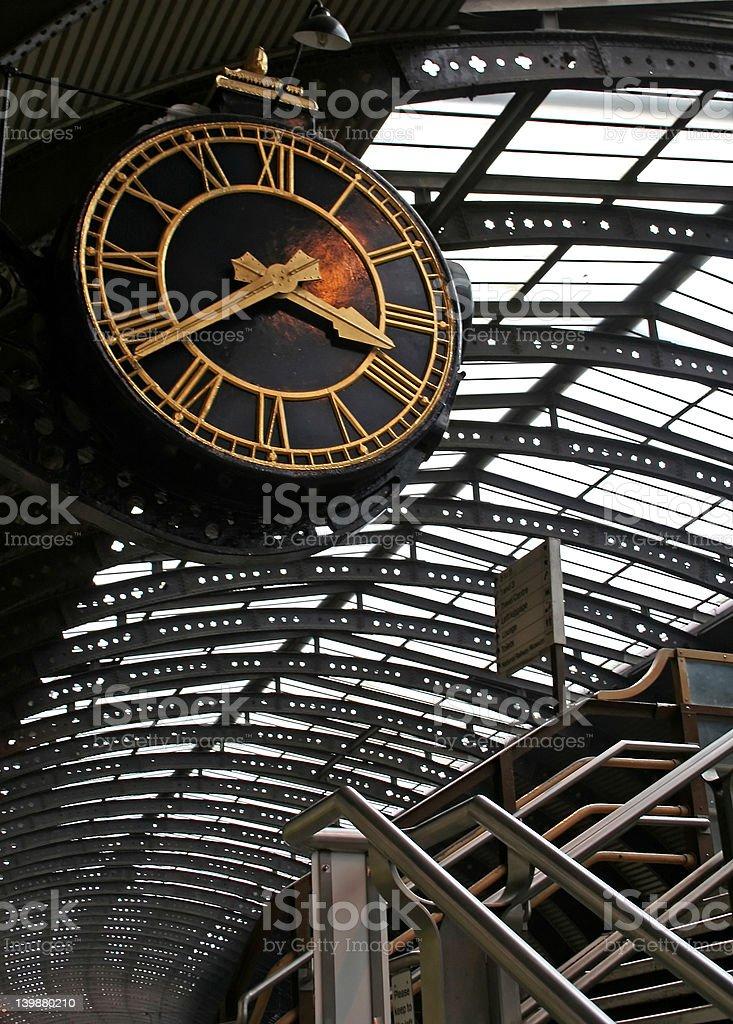 Big Clock royalty-free stock photo