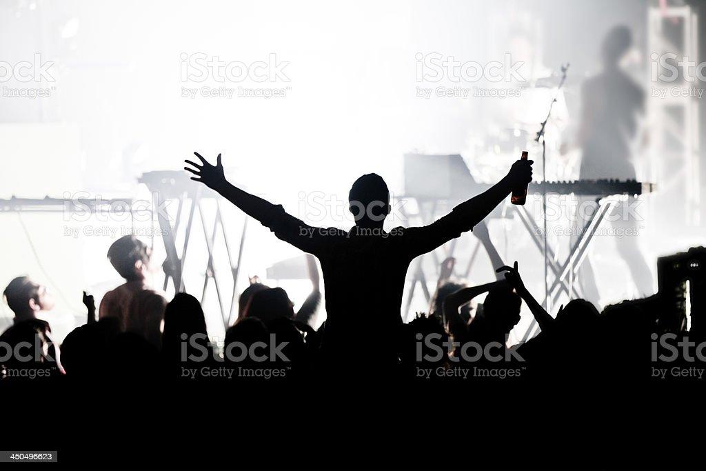 Big concert stock photo