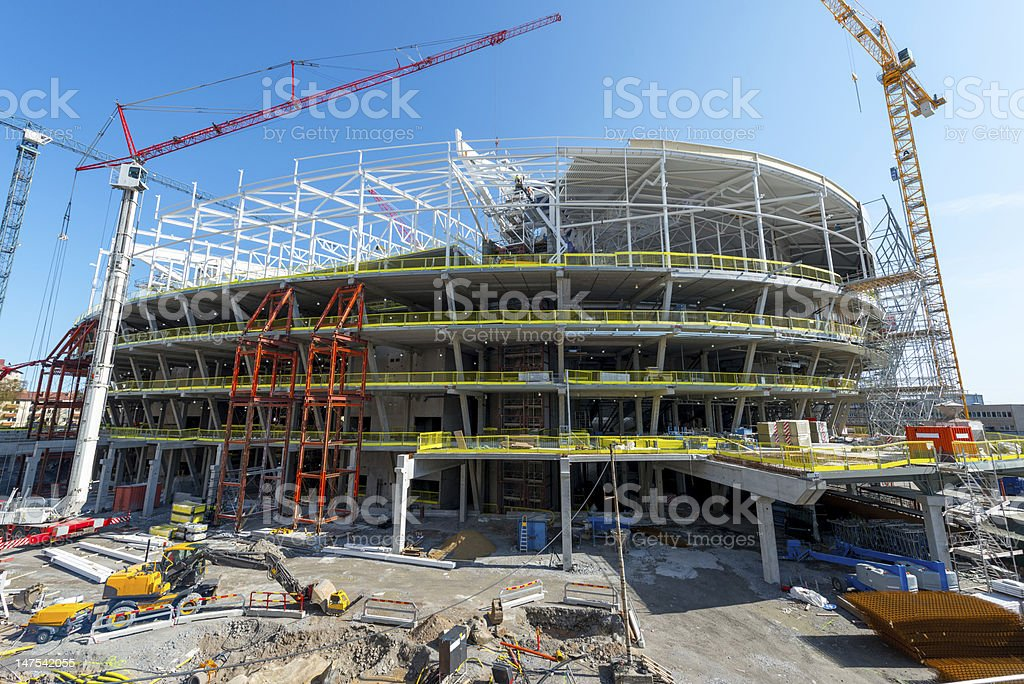 Big Construction royalty-free stock photo