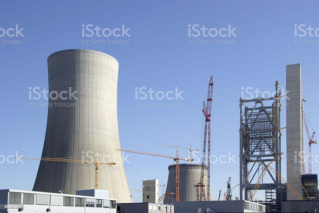 Big construction site stock photo