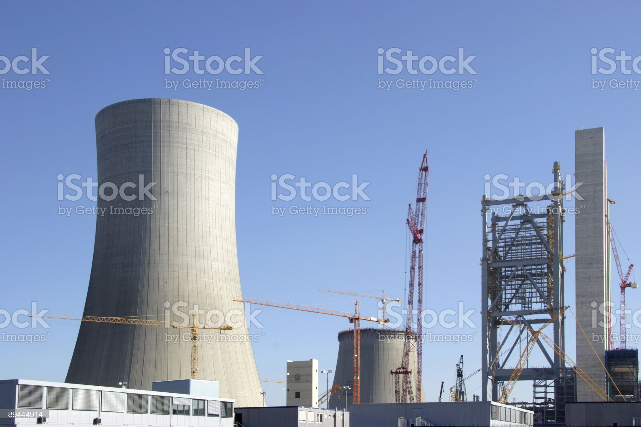 Big construction site royalty-free stock photo