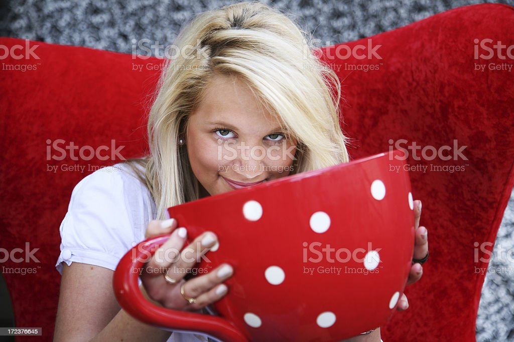 Big cuppa royalty-free stock photo