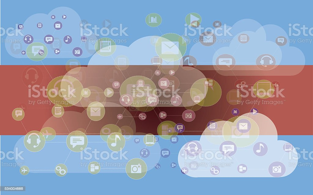 Big Dat concept stock photo
