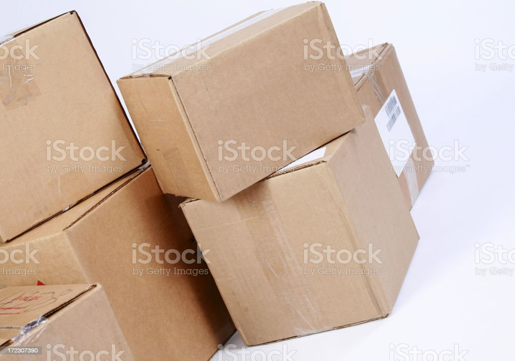 Big Delivery royalty-free stock photo
