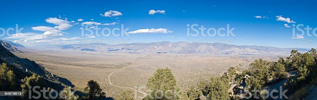 Big desert vista stock photo