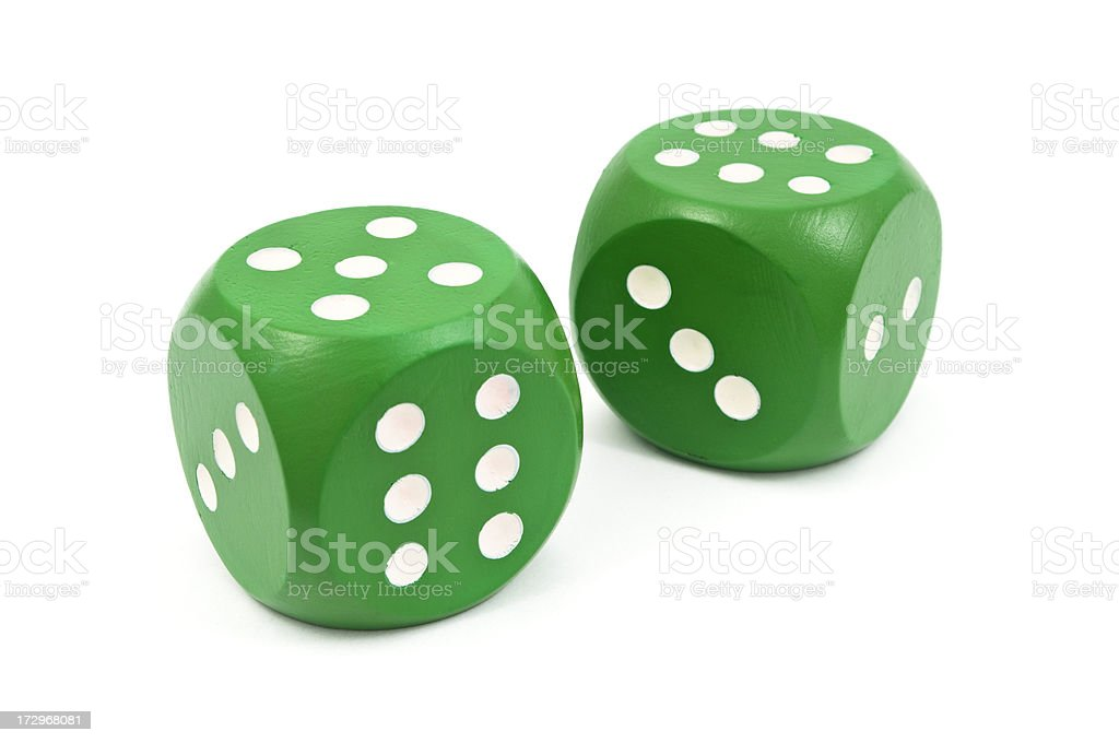 Big Dice royalty-free stock photo