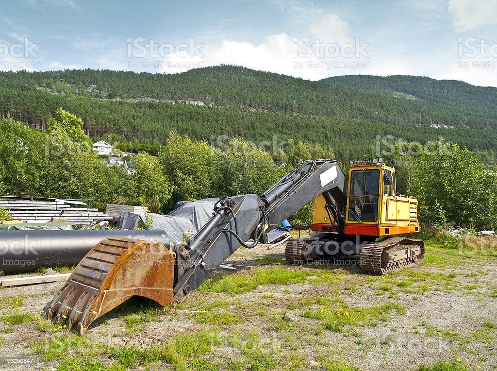 Big Digger royalty-free stock photo