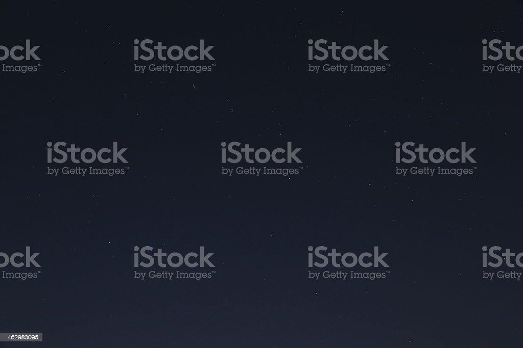 Big Dipper asterism stock photo