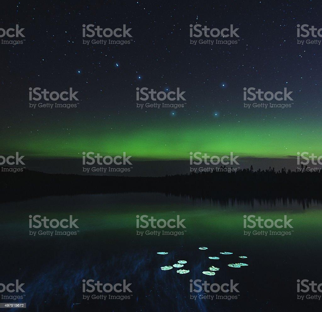 Big Dipper Lake stock photo