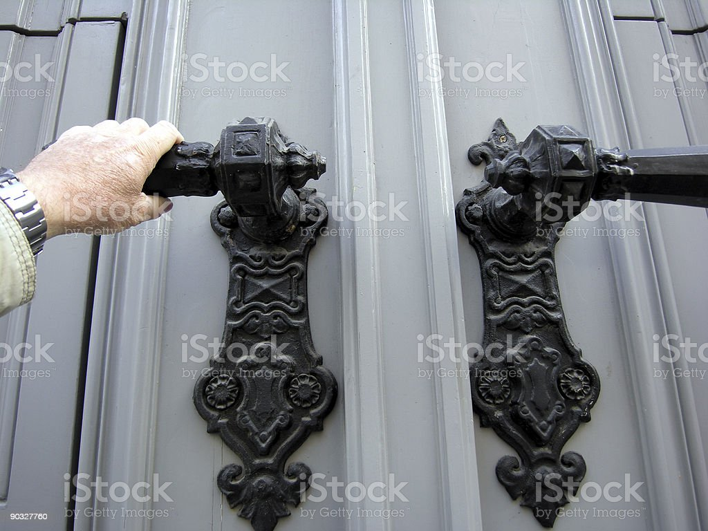Big Door royalty-free stock photo