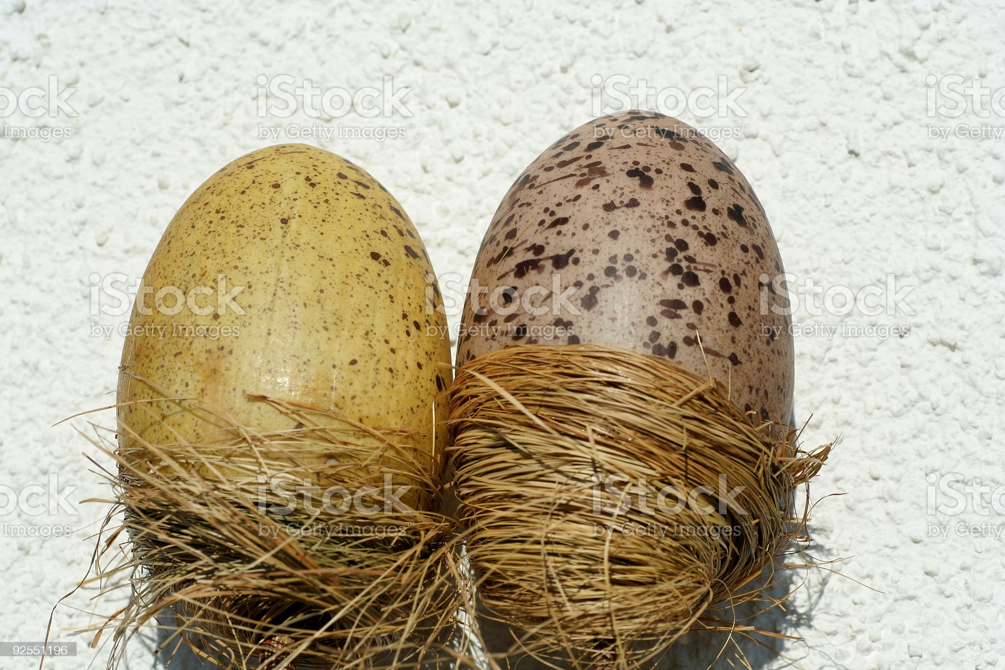 Big easter eggs royalty-free stock photo