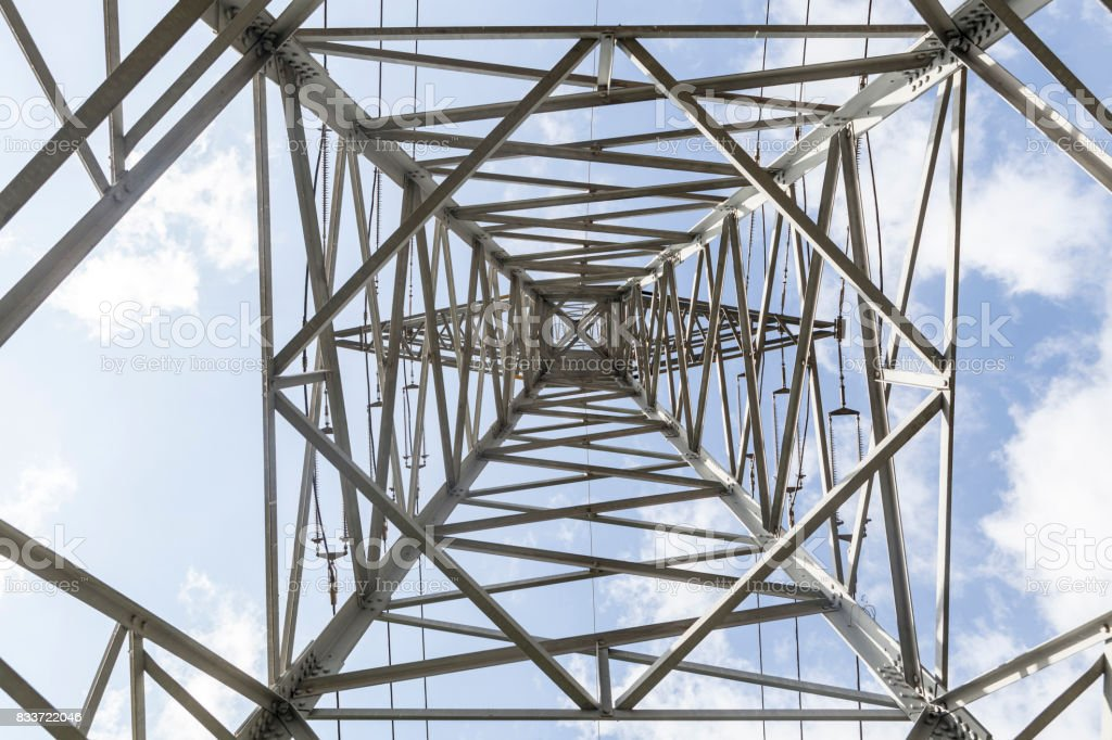 Big Electric Tower stock photo