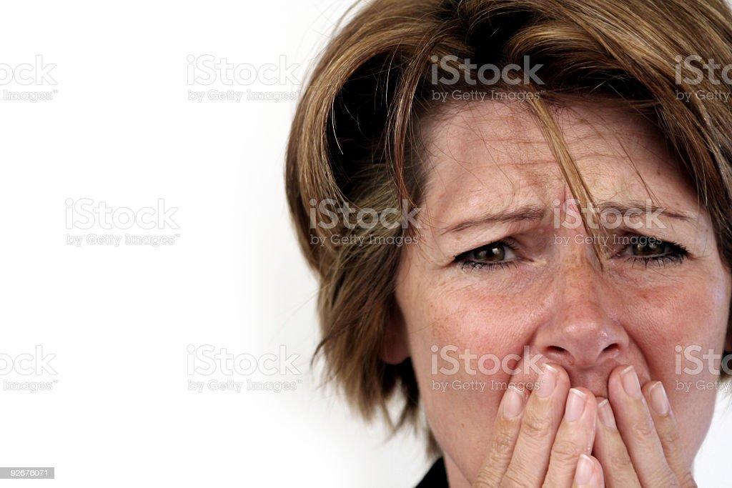 Big Emotions! stock photo