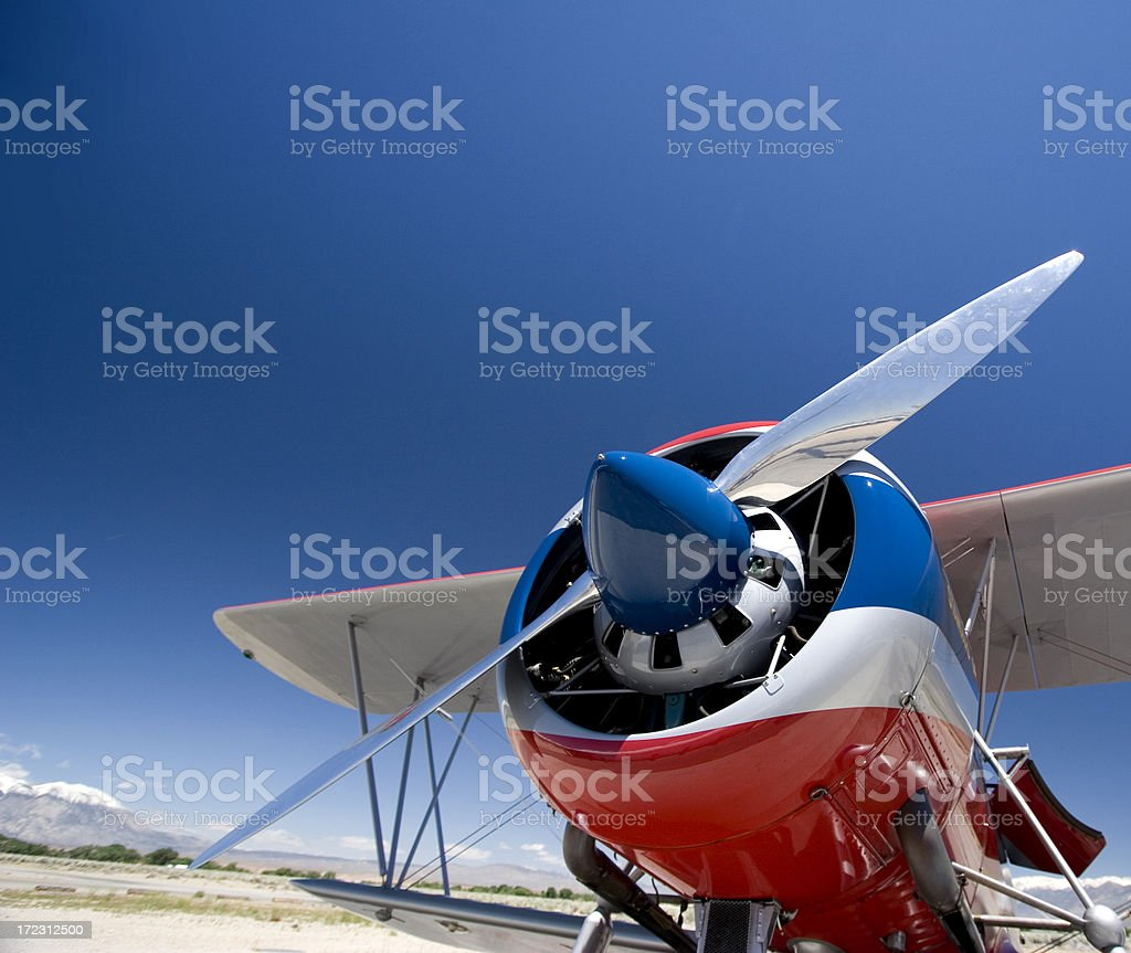 Big Engine, Little Wings royalty-free stock photo