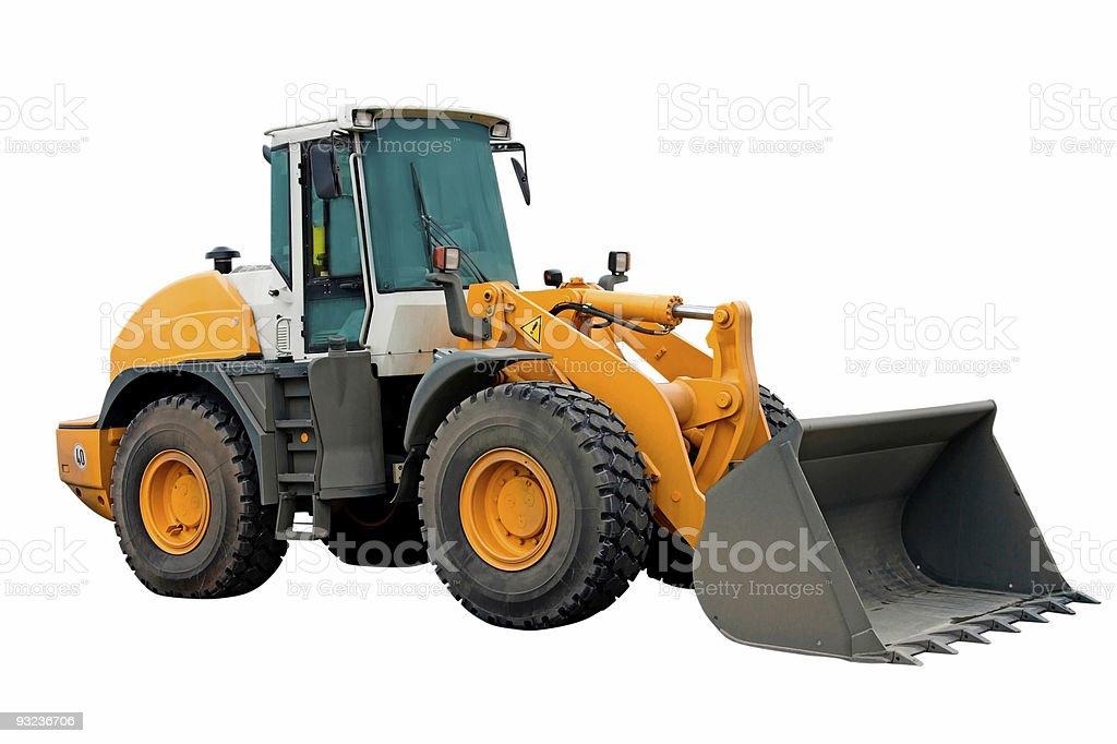 Big Excavator Machinery royalty-free stock photo