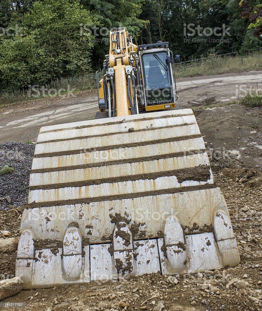 big excavator royalty-free stock photo