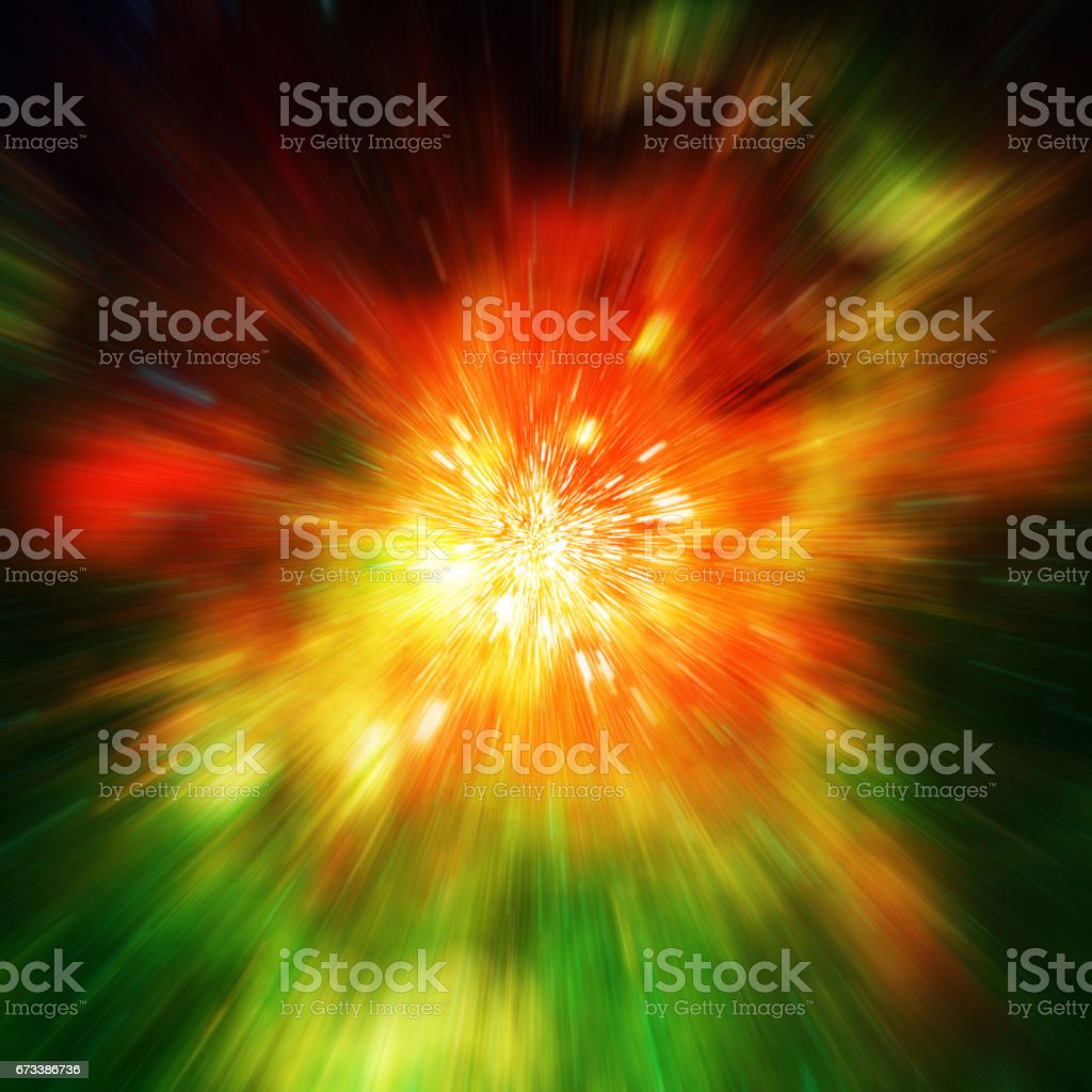 Big explosion in space and relic radiation. Elements of this image furnished by NASA (http://www.nasa.gov/) stock photo