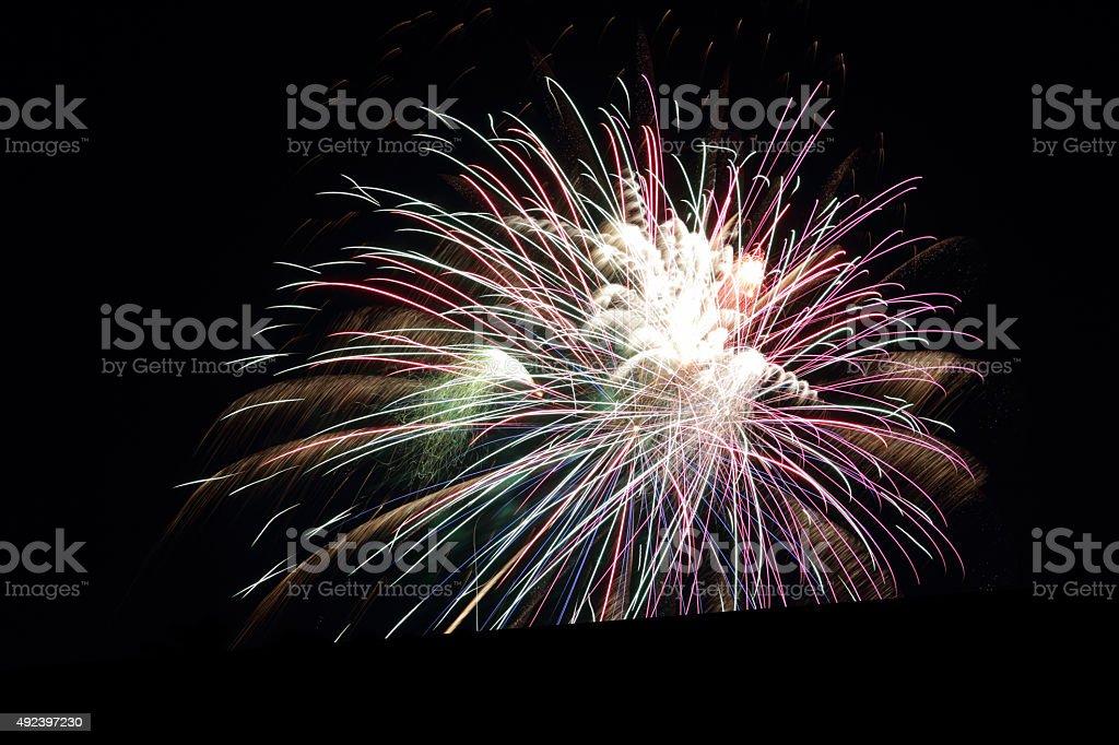 big explosion stock photo